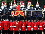 Navy chiefs have suggested troops they must now no longer call be 'Sir'. Pictured: Defence Secretary Gavin Williamson with contributors of the Family Cavarly at Horse Guards