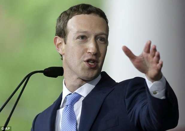 Fb boss Tag Zuckerberg (pictured) made it his Fresh 300 and sixty five days's resolution to repair a situation with untrue news