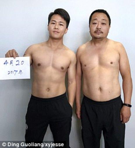 El 20 de abril, los cuerpos de la pareja ya comenzaron a perder peso