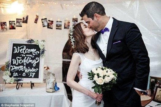 La sorpresa que sigue dando: después del compromiso, Danny le dijo a Nicole que si lo deseaba, podrían casarse de inmediato