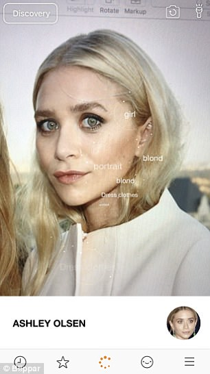 It can even tell apart identical twins such as American actresses Mary-Kate and Ashley (pictured) Olsen