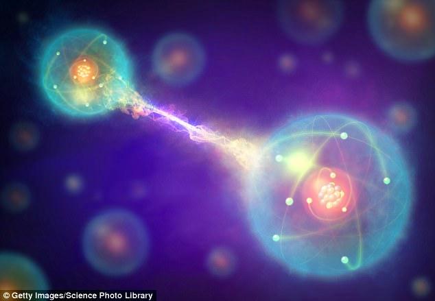 Ein Durchbruch beim Testen von Einsteins 'gruseliger Fernwirkung' könnte den Weg für eine ultra-sichere Quantenkommunikation ebnen. Wissenschaftler untersuchten, wie Photonenpaare verwendet werden können, um eine Verbindung über große Entfernungen in Quantenverschränkung herzustellen. Eindruck des Künstlers