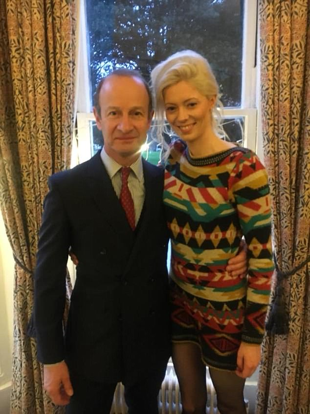 Henry Boton, pictured here with his 25-year-old lover Jo Marney, appeared to be the perfect new leader for Ukip when he was elected by the party in September last year