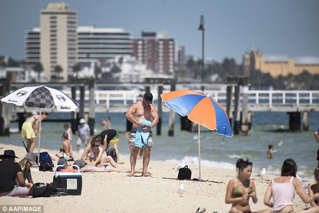 The extreme heatwave blasting most of the east coast would have left Bunnings sausage sizzle fans disappointed (stock image)