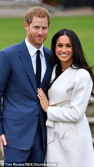 The President will only honour the special relationship if he 'gets what he wants' – and would resent a Royal Wedding snub, says Wolff. Pictured: The Royal couple, Prince Harry and Meghan Markle