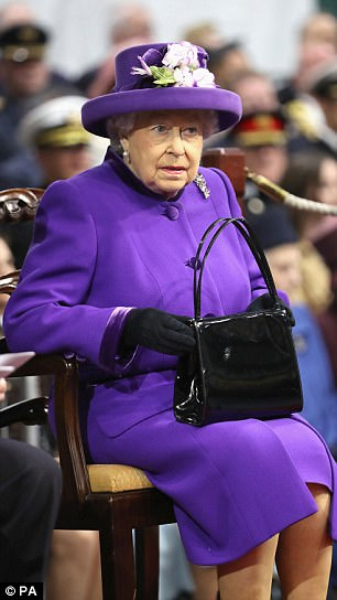 Mr Trump plans to abuse his planned state visit to Britain by 'Trumpalising' the Queen (pictured), according to Wolff