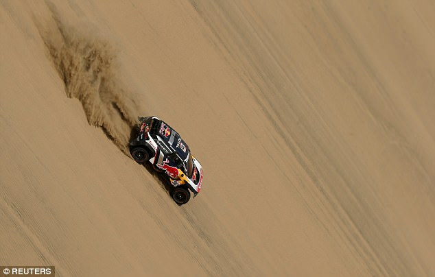 The challenging terrain of Lima was known as a 'special stage' of the 15-day endurance race