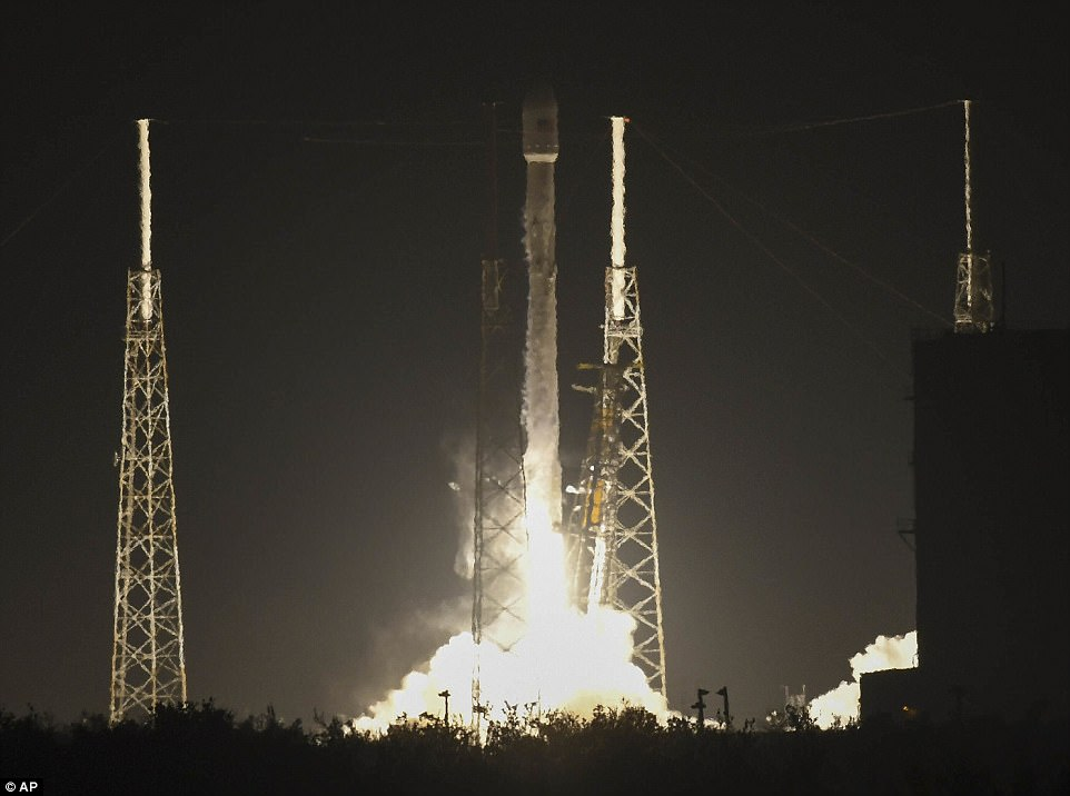 On Sunday, SpaceX launched a secret satellite codenamed Zuma on its first flight of the new year