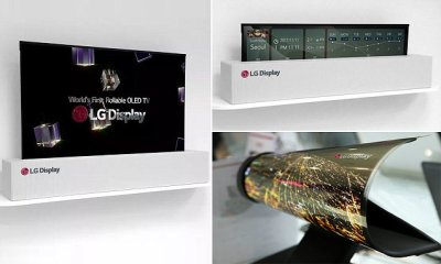 LG to finally start selling radical TV you can ROLL UP like a poster