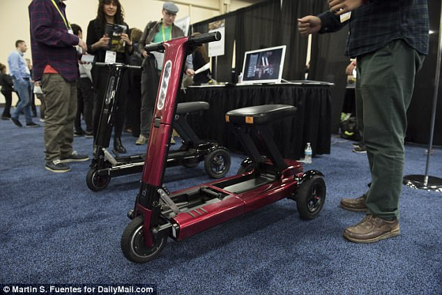Relync's R1 scooter might not be as sleek as its competitors, but it may be the most compact. Its ground-breaking design has landed the R1 a spot as one of CES 2018's Innovation Awards Honorees