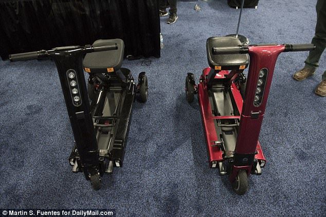 At CES in Las Vegas, Relync showed off a radical new electric scooter that can fold down to the size of a suitcase in just three seconds – and, with built in navigation and LED lights to guide your trip every step of the way, it could be the smartest yet