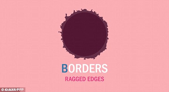 People should look out for moles with irregular borders and jagged edges