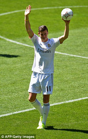 Bale left Spurs for Madrid in £86m move