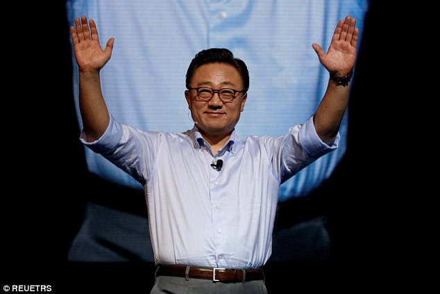 The announcement was made by DJ Koh, president of Samsung's mobile business, during a press briefing at CES yesterday (stock image)