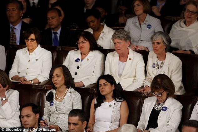 Image result for sotu democrat women white