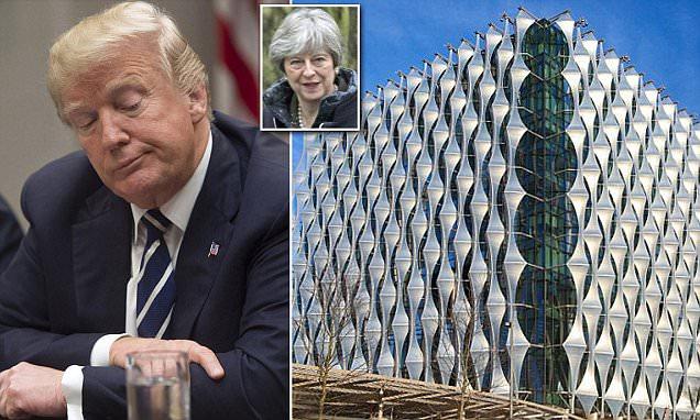 Donald Trump cancels his visit to Britain