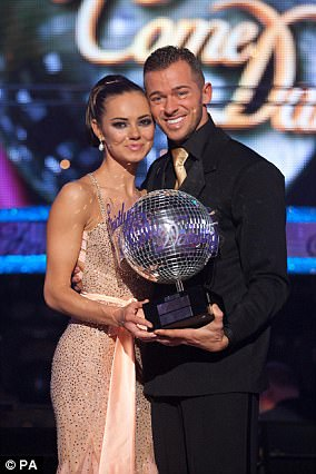 Over: Unfortunately for Kara Tointon and Artem Chigvintsev their relationship didn't manage to go the distance