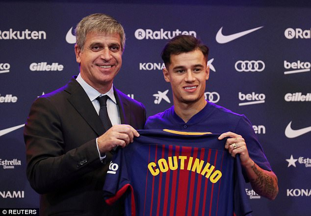 In signing for Barca, Coutinho became the second most expensive player in football history