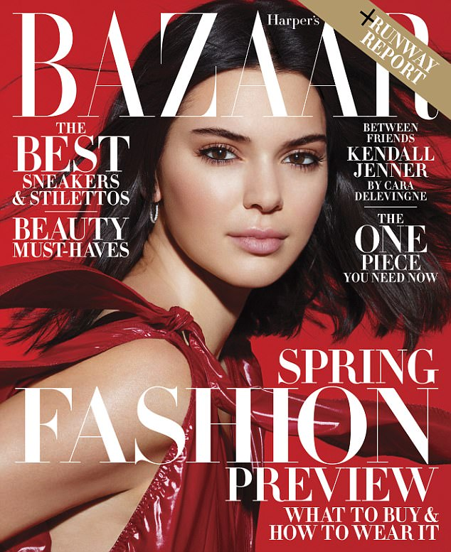 New info:The reality show star recently opened up to friend and fellow model Cara Delevingne for an interview that will appear in the February issue of Harper's Bazaar