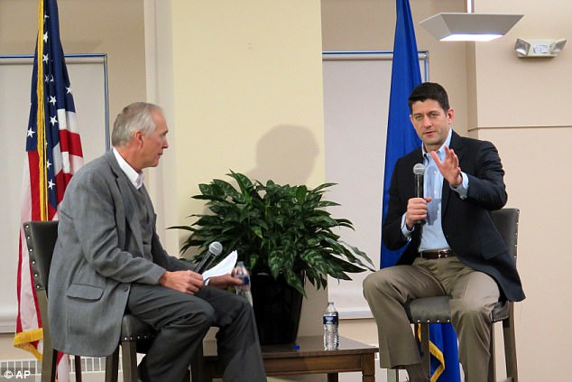 Speaker of the House Paul Ryan referred to Trumps comments as'very unfortunate, unhelpful'