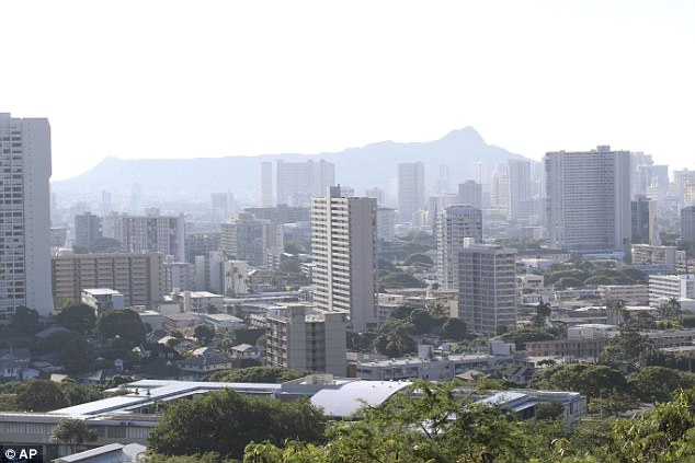 Panic and terror gripped residents and visitors in Hawaii on Saturday after authorities said there was an incoming ballistic missile only to later clarify that it was a false alarm. Honolulu is seen above on Saturday