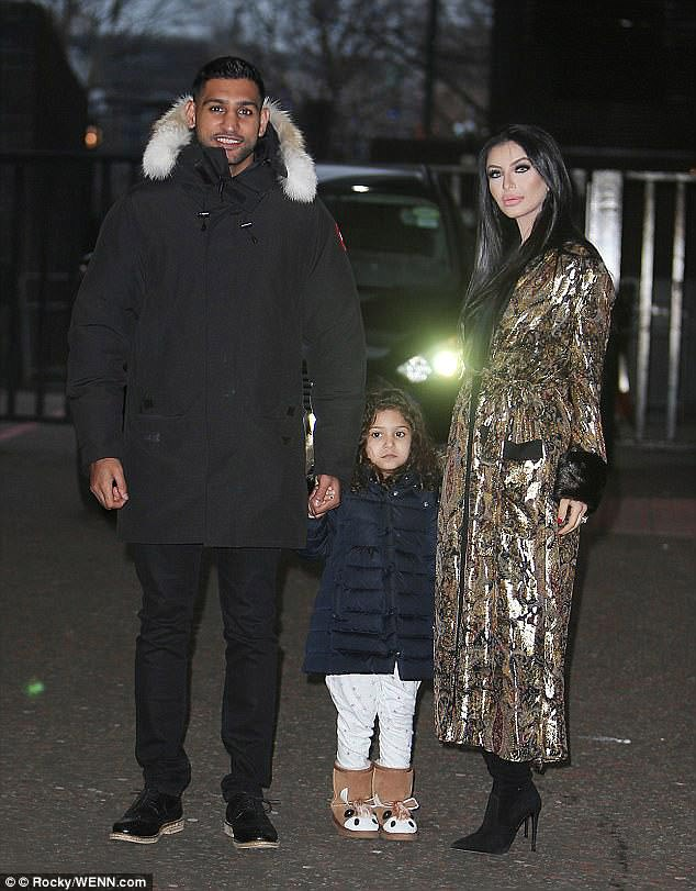 Family man?Amir and Faryal are expecting their second child in April 2018 and they already raise their three-year-old daughter Lamaisah Khan together