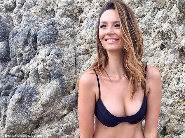 'Surely Ricki-Lee': Fans speculated on Tuesday that Coulter, 32, will be on I'm A Celebrity...Get Me Out Of Here! after latest clue