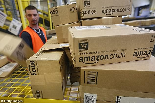 It comes after Amazon was criticised over drivers' working condition at its agencies. File photo