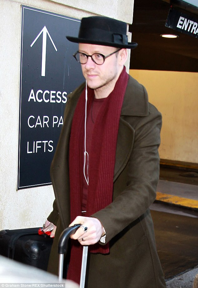 Kevin Clifton Wears His Wedding Ring For Strictly Tour