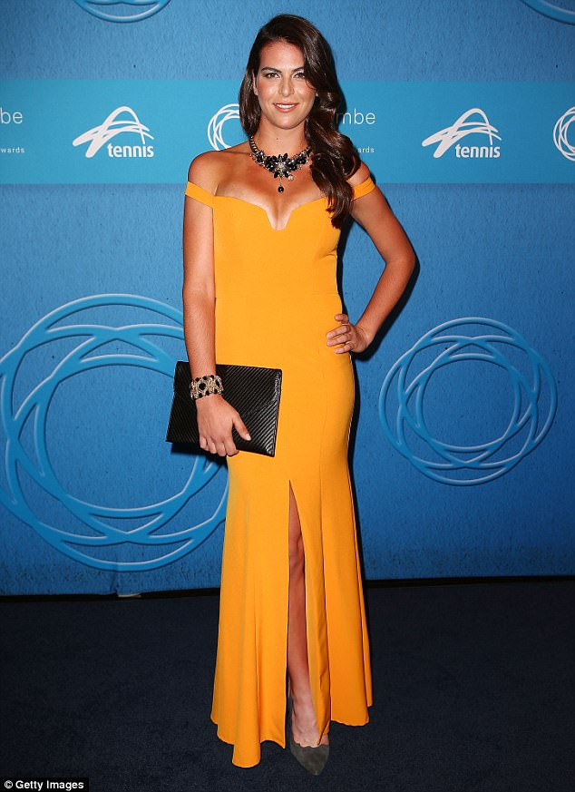 Kygrios and Tomljanovic (pictured), a fellow tennis player, have been dating for two years