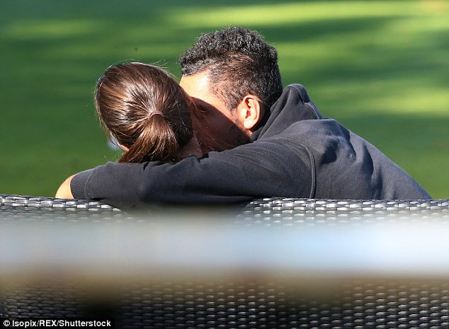 'It's just good to have her back on tour, she's been out on injury so it's good to have her back,' Kyrgios said (pictured together)