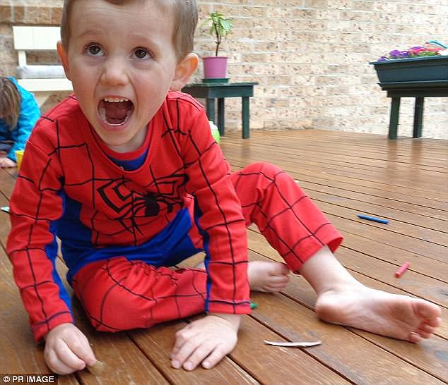 An arrest warrant has been issued for the  biological father of William Tyrrell (pictured) who did not appear in court on Tuesday. William went missing in 2014 sparking an enormous manhunt