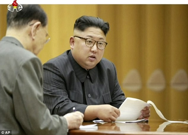 North Korean leader Kim Jong-un (above) abruptly said in a New Year's speech that he was willing to send a delegation to the games