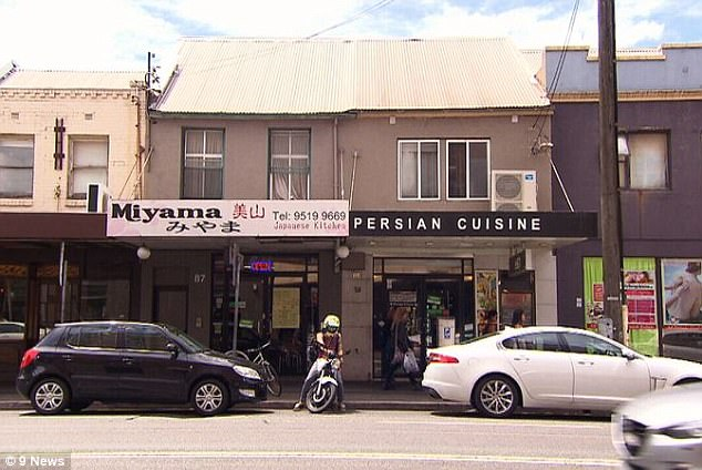 The bodies were found by the couple's landlord above this Persian restaurant in the inner-west suburb