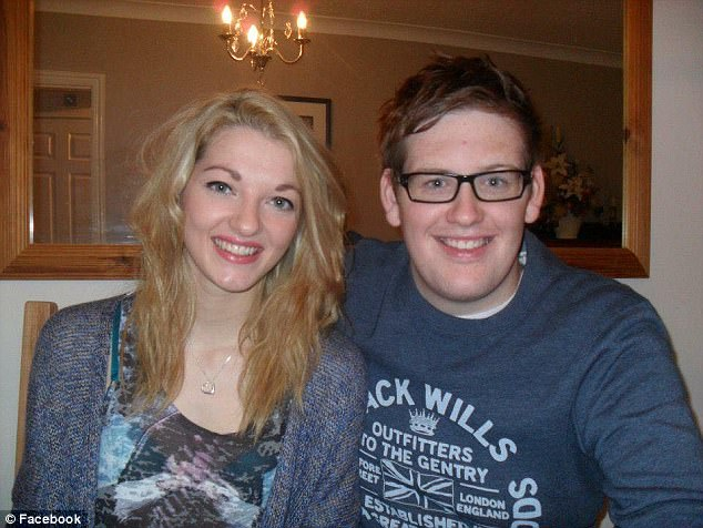 Ms Blake's best friend Rhys James Collington has spoken of his tragic loss. 'She was a beautiful, kind woman with a big heart full of kindness,' he said. The pair are pictured together