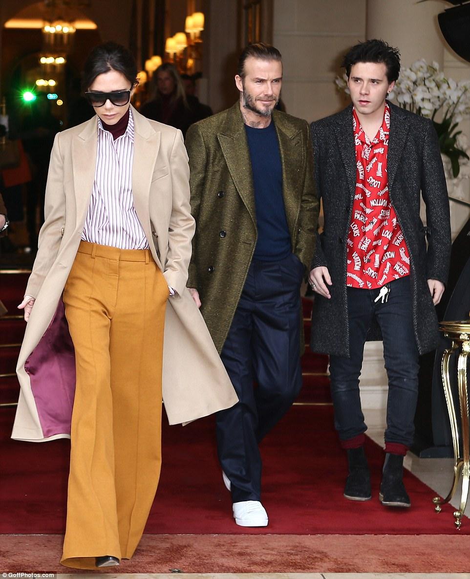 David Beckham And 2014 Victoria