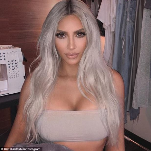 Oh mama! Kim, seen on social media this week, has been actively updating her fans since her daughter Chicago's birth