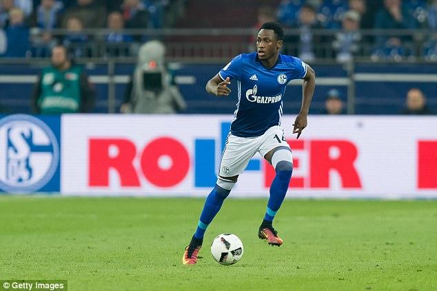 Chelsea defender Baba Rahman is set to rejoin Bundesliga side Schalke on loan