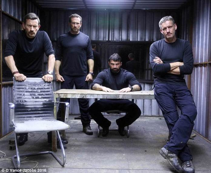 The murder suspect's brother Mark Billingham MBE (right) is one of the stars of Channel 4's SAS Who Dares Wins and is an instructor to the recruits. The SAS hero was once a private body guard for Brad Pitt, Angelina Jolie and Tom Cruise