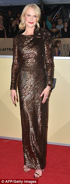 What an arrival: Halle Berry, Nicole Kidman, Margot Robbie and Allison Williams were the talk of the 24th Annual Screen Actors Guild Awards at The Shrine Auditorium in Los Angeles on Sunday evening