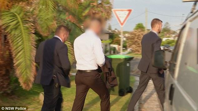 Former Auburn deputy mayor Salim Mehajer is taken into custody by New South Wales police