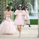 Kaia Gerber In Chanel Haute Couture For Paris Fashion Week