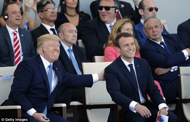 Trump Will Use Davos To Invite Macron For State Visit