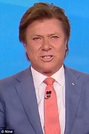 Resultado de imagem para tv presenter makeup fail male orange