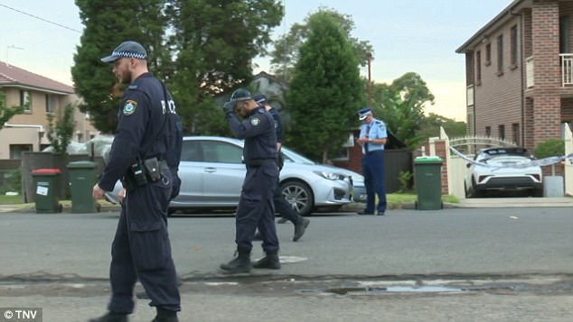 A police spokesman said the stabbing was being treated as a domestic incident
