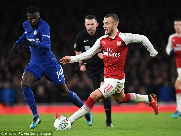 Jack Wilshere enhanced his claims for a place in England's World Cup squad on Wednesday