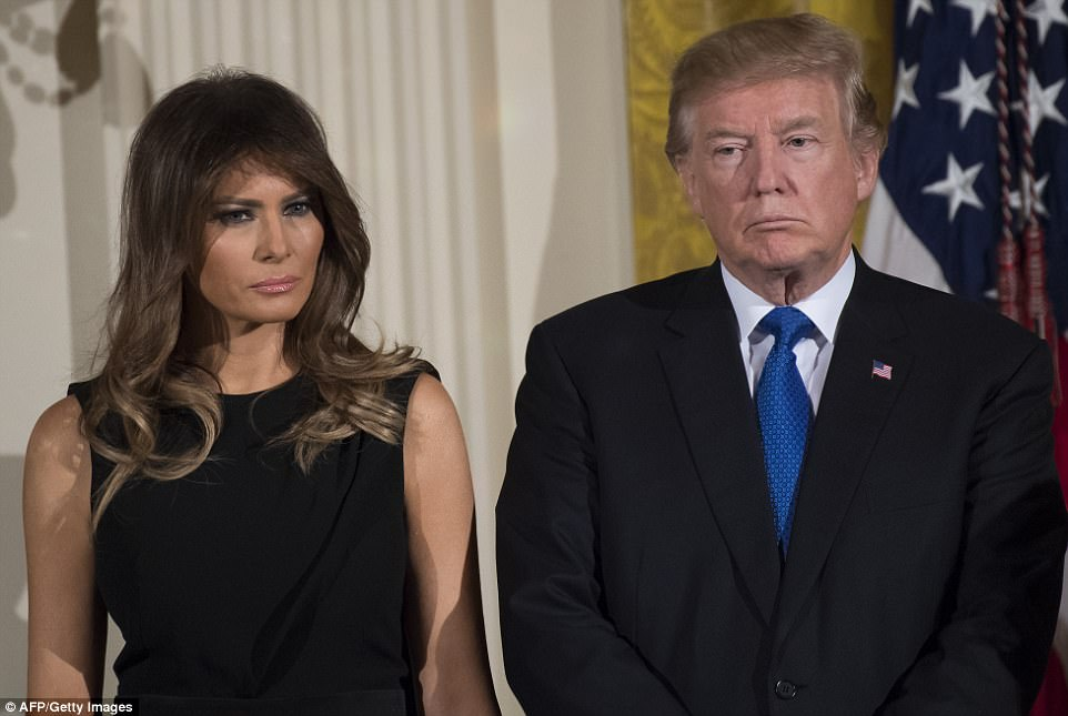 First Lady Melania Trump did not accompany her husband to Davos, due to 'scheduling and logistical issues,' according to her office