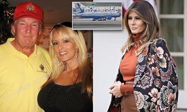 Melania 'staying in hotel' after Stormy Daniels scandal