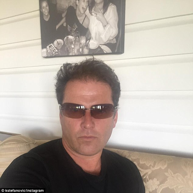 Questionable look: Before returning to the helm of the Today show, Karl Stefanovic dropped a bizarre selfie  on Instagram sporting a pair of translucent brown sunglasses.His fans gave him an old-fashioned ribbing: 'Don't forget that the sun's rays can be damaging to your scalp