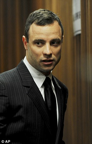 Pistorius was first arrested on Valentine's Day 2013 after shooting through a locked toilet door and killing 29 year-old model Reeva Steenkamp